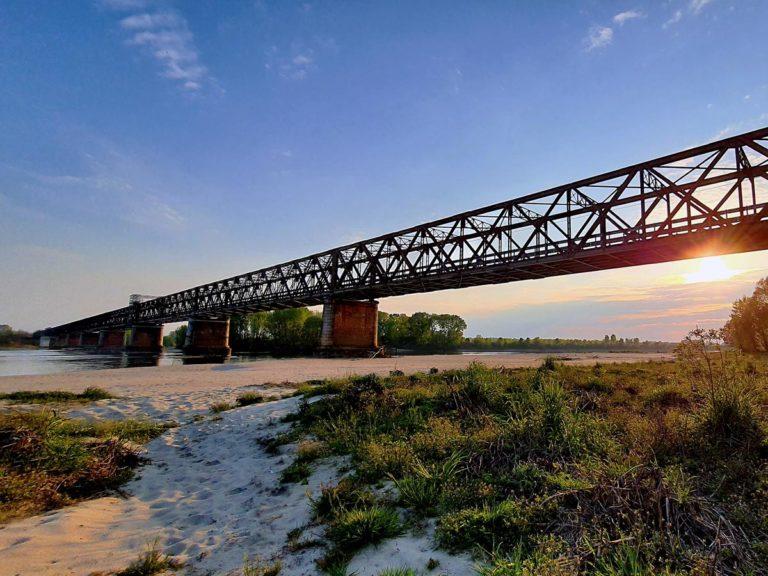 Ponte della Becca sul Fiume Po